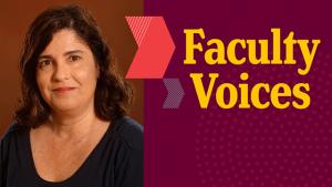 Ana Dias, faculty voices