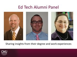 Ed Tech Alumni Panel 5.20.19
