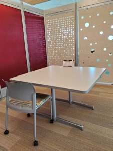 Table in 3 East Study Pod