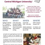 CRWP Middle School Camp Flyer 2014