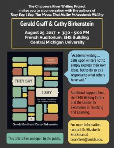 Graff and Birkenstein Flyer (8-25-17)