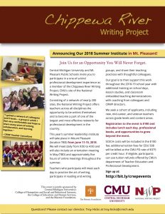 CRWP Leadership Institute 2018 Flyer